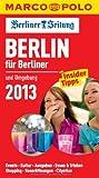 MARCO POLO Cityguide Berlin für Berliner 13 -