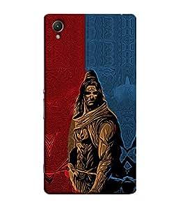 PrintVisa Designer Back Case Cover for Sony Xperia Z1 :: Sony Xperia Z1 L39h :: Sony Xperia Z1 C6902/L39h :: Sony Xperia Z1 C6903 :: Sony Xperia Z1 C6906 :: Sony Xperia Z1 C6943 (Ram Rama Ganesh Ganapati Krishna Srikrishna Kisna Kanayya Kanaiyah Mohana)