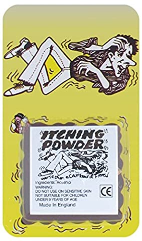 3xItching Powder Traditional Novelty Jokes Gags & Tricks, Party Gift Favors & Handouts, Stocking Fillers