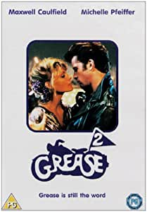 grease 2 dvd amazoncouk maxwell caulfield michelle