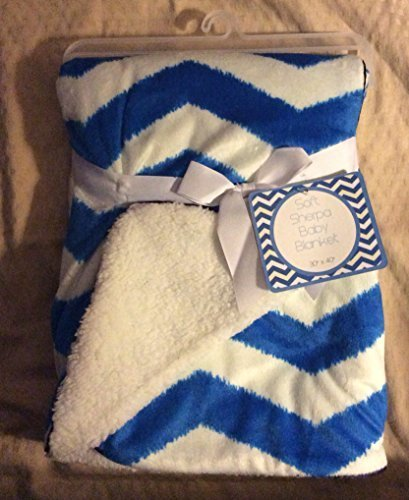 soft-sherpa-baby-blanket-mini-chevron-boys-blue-white-reversible-by-sl-baby-collection