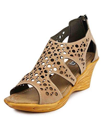 Addo Women Black Sandal UK 6