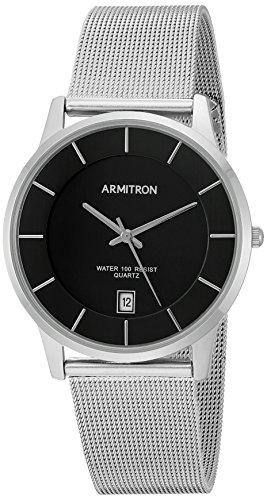 armitron-mens-20-5123bksv-date-calendar-dial-silver-tone-mesh-bracelet-watch