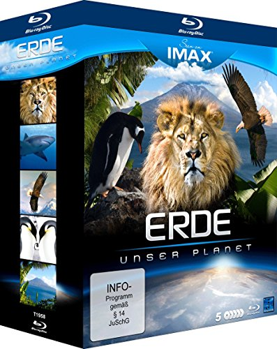 Seen On IMAX: Erde - Unser Planet (5 Blu-rays) [Blu-ray]