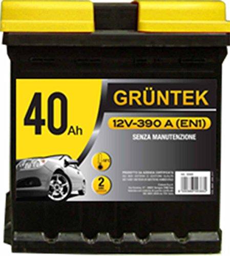 GRUNTEK 40Ah Batteria Auto l0 12V 390A/EN