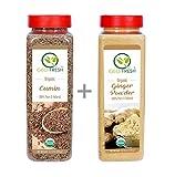 #5: Geo- Fresh Organic Combo ( Cumin Whole 440G + Ginger Powder 400G ) - Usda Certified