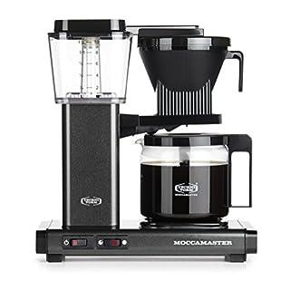 Moccamaster Filter Coffee Machine KBG 741 AO-UK Plug, 1.25 Litre, 1520 W, Stone Grey