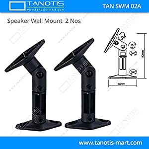 2.1,5.1,7.1 Wall / Ceiling mount(MultiDirection) for Surround Speakers (Pack Of 2 Mounts)
