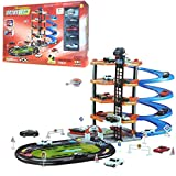 FunkyBuys® 5 Level Modern Car Park Driveway (SI-TY1019) Car Wash Garage Set Kids Gas Station Play Set Toy