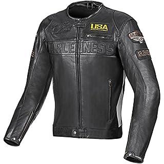Arlen Ness Detroit Motorradlederjacke 48