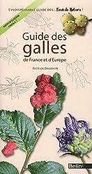 Guide des galles de France et d'Europe