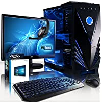 "VIBOX Marksman 63 Gaming PC Computer with Game Voucher, Windows 10 OS, 22"" HD Monitor (4.2GHz Intel i7 Quad-Core Processor, Nvidia GeForce GTX 1060 Graphics Card, 32GB DDR4 RAM, 240GB SSD, 3TB HDD)"
