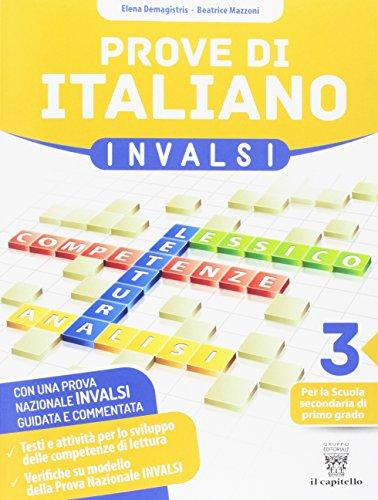 Prove di italiano su modello INVALSI per la classe terza della Scuola Secondaria di 1° grado