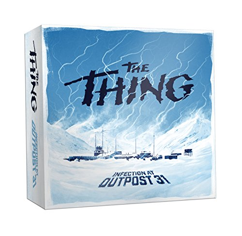 USAopoly The Thing Infection at Outpost 31 Strategy Game 51UAl6ESO3L