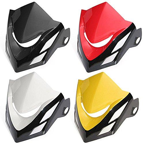 Scheinwerfer Wind Schild Lampe Abdeckung Verkleidung Verkleidung fur 2013-2015 Honda Grom MSX 125-rot (2014 Honda Grom)