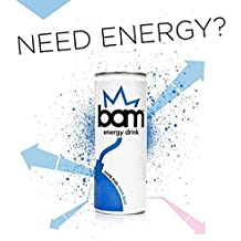 Bam Energy Drink - 96 X 0,25 L
