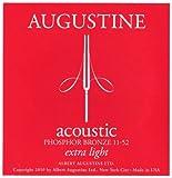Augustine Saiten für Akustikgitarre Phosphor Bronze Satz Extra Light .011 - .052
