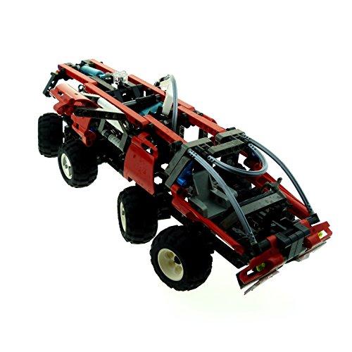 1 x Lego Technic Set Modell Feuerwehr Auto Wagen 8454 Rescue Truck Technik rot schwarz incomplete unvollständig (Lego Rescue Set)