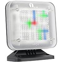 1byone TV Simulator LED televisie- Dummy, Home Security/inbraakbeveiliging met lichtsensor en timer functie