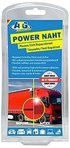 ATG Kit de réparation Power Naht pour tente, bâche de camion, voiture ou remorque, bâche en PVC