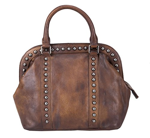 Scocca In Pelle Borsa Ms. Brown