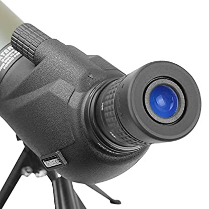 Aomekie Spotting Scope Waterproof Porro Prism Zoom Monocular Telescope with Tripod and Bag for Birdwatching Target Shooting Archery Outdoor Activities