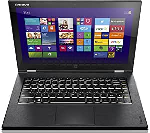 Lenovo Yoga 2 Pro-13 33,8 cm (13,3 Zoll QHD+ IPS) Convertible Ultrabook (Intel Core i7-4510U, 3,1GHz, 8GB RAM, 512GB SSD, Intel HD Graphics 4400, Touchscreen, Win 8.1) clementine orange