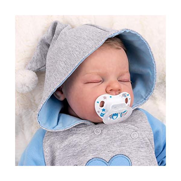 """Baby Sweets – Mono de bebé con capucha en diseño """"I Love Papa"""", como ropa de bebé para niñas & niños/mono para bebé como pelele para recién nacidos & niños pequeños diferentes tamaños 4"""