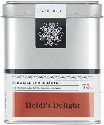 Samova Heidi's Delight - Schweizer Bio-Kräuter 75g, 1er Pack (1 x 75 g) von samova auf Gewürze Shop