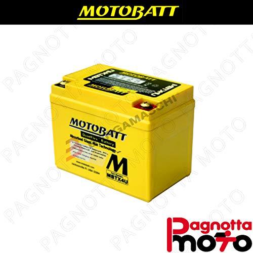 E06029 BATTERIA BATTERY PRECARICATA MOTOBATT MBTX4U ADLY ATV 50 12 V 4_7 AH 114 X 70 X 87 MM ACIDO