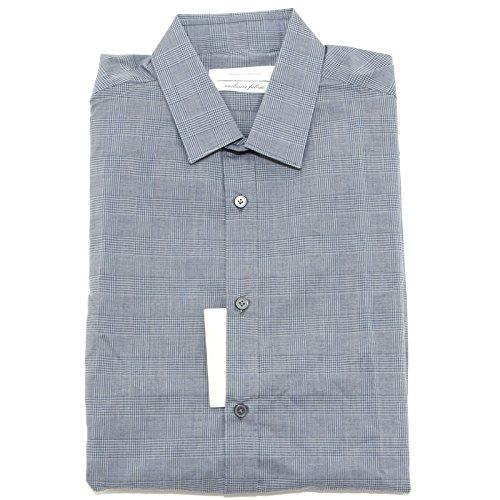 5580L camicia uomo MAURO GRIFONI slim fit manica lunga camicie shirts men [42 (16.1/2)]