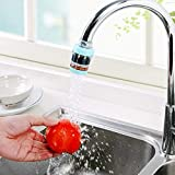 HOME CUBE® Kitchen Bathroom Faucet Extenders Water Saving Faucet Double Purifier Medical Stone