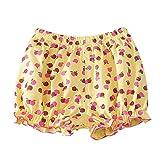 Minuya Kleinkind Baby Mädchen Kleidung Floral Casual Sommer Elastische Shorts Pumphose Hose Kurz 1-3 Jahre