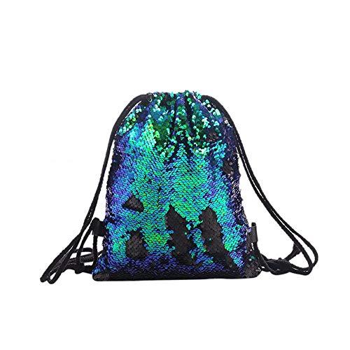 Carry stone Frauen Pailletten Rucksack zugschnur große kapazität Outdoor Reisetasche Geschenk langlebig und praktisch