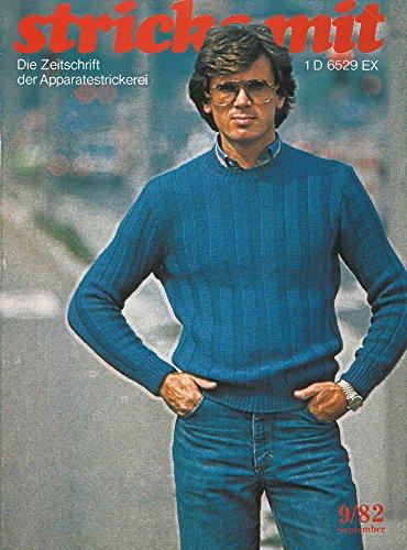 Strickmaschinen-Zeitschrift Stricke Mit, Ausgabe 1982/09 (Zeitschrift für Maschinenstricken Stricke Mit 198209) (Strickmaschine Stricken)
