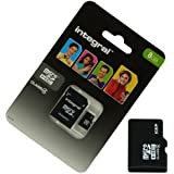 Acce2S - CARTE MEMOIRE 8 GO pour SAMSUNG Galaxy CORE PRIME VE MICRO SD HC + ADAPT SD integral