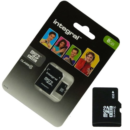 Acce2S-Reduktion 8 GB, für BOUYGUES TELECOM BS 403 MICRO SD HC integral SD Adapter
