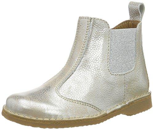 Bisgaard Mädchen Stiefel Chelsea Boots, Silber (7011 Silver), 31 EU