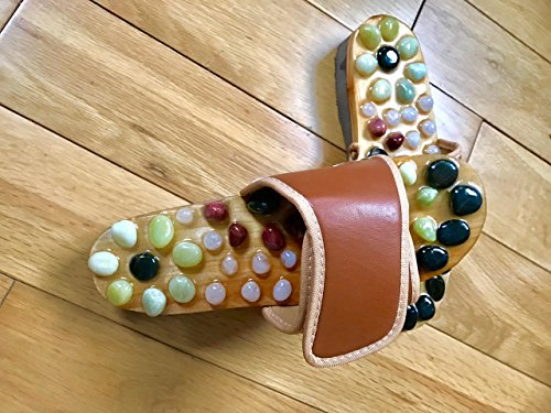wooden-foot-slippers-acupressure-shoe-massage-natural-stone-jnvshop-reflexology-41-eu-brown
