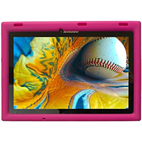 BobjGear Carcasa Resistente Para Tablet Lenovo Tab 2 A10-70, A10-70F y Lenovo Tab 3 TB3-X70L, TB3-X70F - Bobj Funda Protectora