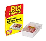 STV The Big Cheese Live Catch Multi Mouse Trap Small x 6
