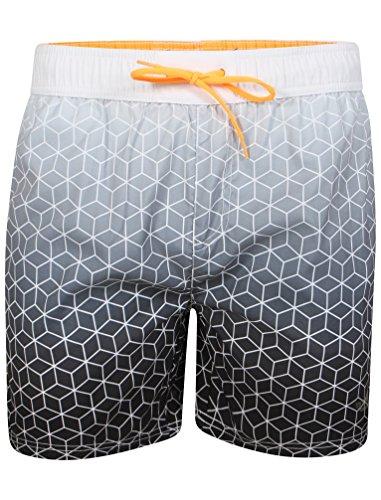 Neuf Pour Hommes Tokyo Laundry Kokomo Short Natation Tailles S - XXL Noir