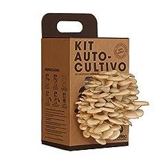 Idea Regalo - Kit Coltivazione funghi su fondo di caffé riciclato