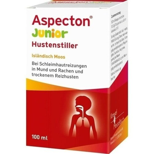 Aspecton Junior Hustenstiller Isländisch Moos Saft, 100 ml