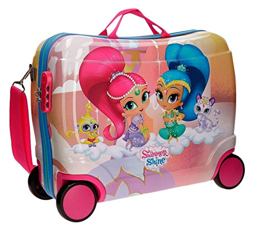 Shimmer and Shine Pets Valigia per bambini, 50 cm, 34 liters, Rosa