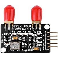Módulo de Generador de Señal de Función DDS 0 MHz a 12.5 MHz Guadrado/Triángulo/Onda Sinusoidal Tarjeta de Generador de Señal DDS