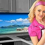 Küchenrückwand < Strand > Premium Hart-PVC 0,4 mm selbstklebend 220x60cm