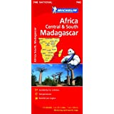 Africa Cental & South, Madagascar (Michelin National Maps)