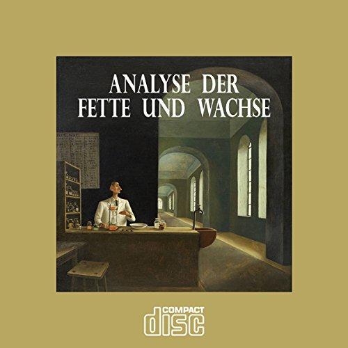 Analyse der Fette und Wachse als PDF auf einer CD Wachs, Bienenwachs -