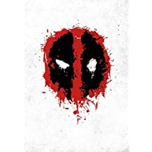 Marvel Comics Metal Poster Deadpool Spray Tag 32 x 45 cm Posters Wallscrolls